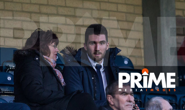 Matt Ingram of Queens Park Rangers watches from the stands during the Sky Bet League 2 match between Wycombe Wanderers and Leyton Orient at Adams Park, High Wycombe, England on 23 January 2016. Photo by Andy Rowland / PRiME Media Images.