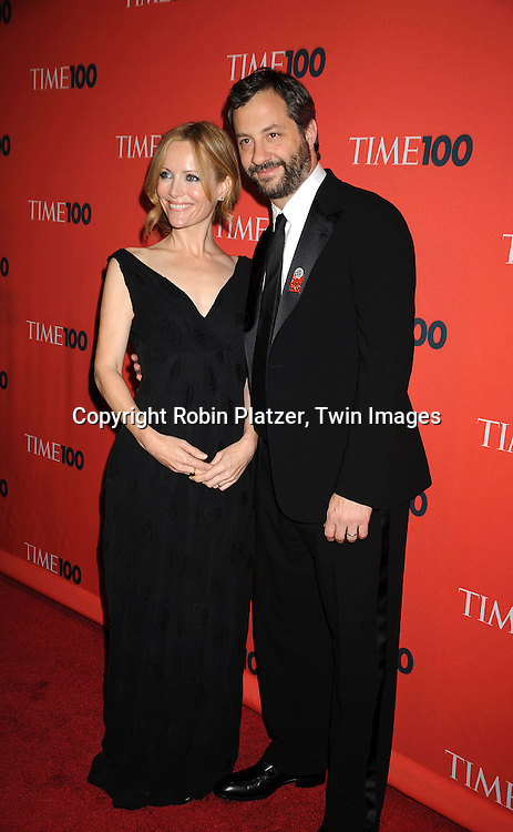 Leslie Mann and husband Judd Apatow