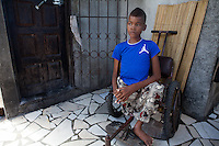 "Fernando lives in Beira city, Mozambique, together with his family and is 17 years old. He is missing one leg due to an infected wound and is currently not attending school due to his illness. His biggest wish is to be able to return to school, find a job and have a house and children one day. But ""no wife"", as he says, as it´s ""too complicated""."