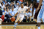 14 November 2014: North Carolina's Nate Britt. The University of North Carolina Tar Heels played the North Carolina Central University Eagles in an NCAA Division I Men's basketball game at the Dean E. Smith Center in Chapel Hill, North Carolina. UNC won the game 76-60.