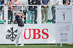 Jens Fahrbring of Sweden tees off the first hole during the 58th UBS Hong Kong Golf Open as part of the European Tour on 08 December 2016, at the Hong Kong Golf Club, Fanling, Hong Kong, China. Photo by Marcio Rodrigo Machado / Power Sport Images