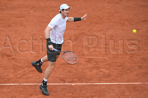 29.05.2016. Stade Roland Garros, Paris, France. Roland Garros French Open Tennis Day 8.  Andy Murray (GB)