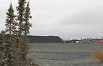 COAL PILE, KUGLUKTUK, NUNAVUT, CANADA