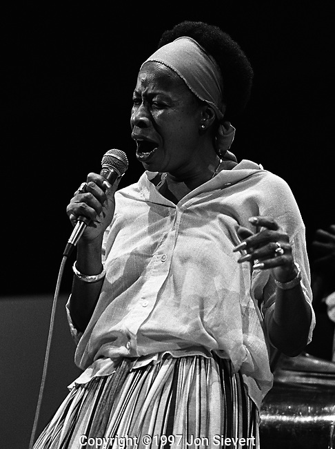 Betty Carter, Sept 1977, Monterey Jazz Festival