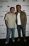 OLTL Kevin Spirtas and ATWT Bruce Dylan at 2nd Annual Broadway Flea Market & Grand Auction to benefit Broadway Cares/Equity Fights Aids on Sunday, September 21, 2008 in Shubert Alley, New York City, New York. (Photo by Sue Coflin/Max Photos)