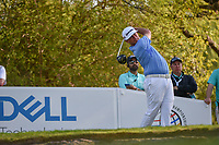 Chez Reavie (USA) watches his tee shot on 12 during day 1 of the WGC Dell Match Play, at the Austin Country Club, Austin, Texas, USA. 3/27/2019.<br /> Picture: Golffile | Ken Murray<br /> <br /> <br /> All photo usage must carry mandatory copyright credit (© Golffile | Ken Murray)