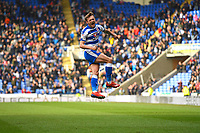John Swift of Reading scores and celebrates during Reading vs Wigan Athletic, Sky Bet EFL Championship Football at the Madejski Stadium on 9th March 2019