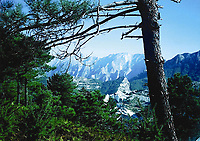 BNPS.co.uk (01202 558833)<br /> Pic: HannBooks/BNPS<br /> <br /> PICTURED: The mountainous region where the operation took place in Rossano in Italy<br /> <br /> Remarkable photos taken deep behind enemy lines by an SAS unit during a daring wartime operation have come to light on the 75th anniversary of the mission. <br />  <br /> The little-known Operation Galia on the 27th December 1944 involved just 33 SAS men hoodwinking the Nazis and their fascist allies into thinking a much greater force had landed behind them in Italy in December 1944.<br />  <br /> Adolf Hitler's forces had just launched a major surprise offensive in the Ardennes Forest in Belgium that became known as the Battle of the Bulge.<br /> <br /> Robert Hann, whose late father was SAS Paratrooper Stanley Hann, retraced his father's wartime experiences and part of his [father's] epic 80 mile long escape route through the Apennine mountains which the men took, to help him write the book 'SAS Operation Galia.'