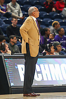 Washington, DC - December 22, 2018: High Point Panthers head coach Tubby Smith during the DC Hoops Fest between Hampton and Howard at  Entertainment and Sports Arena in Washington, DC.   (Photo by Elliott Brown/Media Images International)