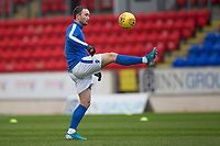 29th December 2019; McDairmid Park, Perth, Perth and Kinross, Scotland; Scottish Premiership Football, St Johnstone versus Ross County; Chris Kane of St Johnstone during the warm up before the match  - Editorial Use