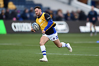 Max Green of Bath Rugby in action during the pre-match warm-up. Gallagher Premiership match, between Worcester Warriors and Bath Rugby on January 5, 2019 at Sixways Stadium in Worcester, England. Photo by: Patrick Khachfe / Onside Images