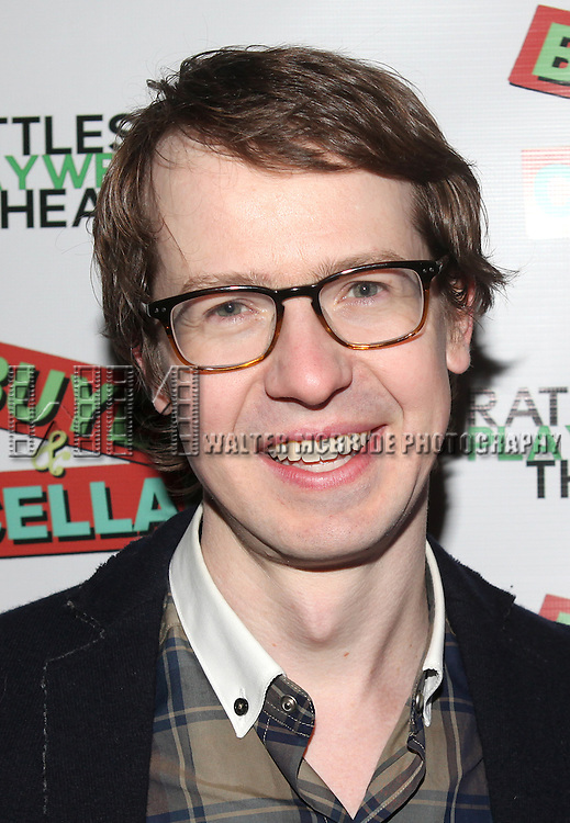 David Turner attending the Off-Broadway Opening Night Performance of Michael Urie starring in 'Buyer & Cellar'  at the Rattlestick Playwrights Theater in New York City on 4/3/2013