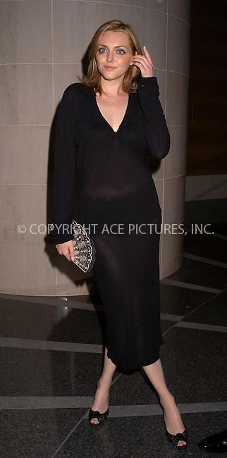 Sophie Dahl arriving at the Americans for the Arts' 8th Annual National Arts Awards Gala. New York, November 11, 2003. Please byline: AJ SOKLANER/NY Photo Press.   ..*PAY-PER-USE*      ....NY Photo Press:  ..phone (646) 267-6913;   ..e-mail: info@nyphotopress.com