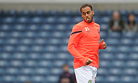 Blackburn Rovers' Elliott Bennett during the pre-match warm-up <br /> <br /> Photographer Kevin Barnes/CameraSport<br /> <br /> The EFL Sky Bet Championship - Blackburn Rovers v Luton Town - Saturday 28th September 2019 - Ewood Park - Blackburn<br /> <br /> World Copyright © 2019 CameraSport. All rights reserved. 43 Linden Ave. Countesthorpe. Leicester. England. LE8 5PG - Tel: +44 (0) 116 277 4147 - admin@camerasport.com - www.camerasport.com