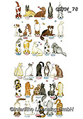 Kate, CUTE ANIMALS, LUSTIGE TIERE, ANIMALITOS DIVERTIDOS, paintings+++++Cats & Dogs page 28,GBKM78,#ac#, EVERYDAY ,dogs,dog
