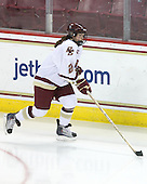 Kristina Brown (BC - 2) - The University of Minnesota-Duluth Bulldogs defeated the Boston College Eagles 3-0 on Friday, November 27, 2009, at Conte Forum in Chestnut Hill, Massachusetts.