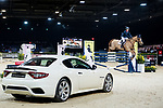 Clarissa Lyra of Hong Kong riding Chardonay Hara Des Barrages competes in the Maserati Masters Power during the Longines Masters of Hong Kong at AsiaWorld-Expo on 10 February 2018, in Hong Kong, Hong Kong. Photo by Diego Gonzalez / Power Sport Images