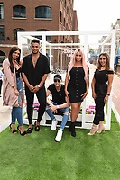 Abbie Holborn, Nathan Henry, Scotty T, Chloe Ferry and Sophie Kasaei<br /> Cast members of Geordie Shore take Shag Pad on Tour to launch series 15, London. <br /> <br /> <br /> &copy;Ash Knotek  D3293  10/08/2017