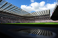 A general view of St James' Park after kick offduring Newcastle United vs Tottenham Hotspur, Premier League Football at St. James' Park on 13th August 2017