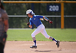Western Nevada College Wildcats' Samantha Bell runs the bases during a preseason softball game against Shasta College in Reno, Nev., on Saturday, Sept. 20, 2014.<br /> Photo by Cathleen Allison