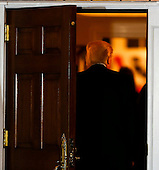 United States President-elect Donald Trump returns to the clubhouse of Trump International Golf Club, November 19, 2016 in Bedminster Township, New Jersey.<br /> Credit: Aude Guerrucci / Pool via CNP