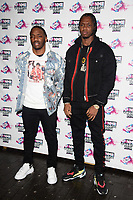 Krept and Konan<br /> arriving for the NME Awards 2018 at the Brixton Academy, London<br /> <br /> <br /> ©Ash Knotek  D3376  14/02/2018