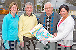 Pictured at the Kerry Life Education annual 5k walk in Killorglin on Sunday were Orlaith O'Sullivan Reidy, Sean O'Suilleabhain, Paddy O'Callaghan and Cora Conway. ...... ..........................