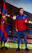 January 7th 2017, Nou Camp, Barcelona, Spain; FC Barcelona announce the signing of Philippe Coutinho from Liverpool FC in the UK