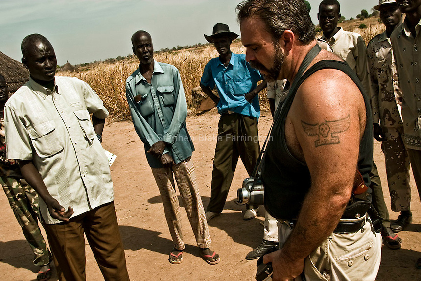 Rev. Sam Childers in South Sudan