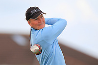 Alexandre Fuchs (FRA) on the 5th tee during Round 1 of the The Amateur Championship 2019 at The Island Golf Club, Co. Dublin on Monday 17th June 2019.<br /> Picture:  Thos Caffrey / Golffile<br /> <br /> All photo usage must carry mandatory copyright credit (© Golffile | Thos Caffrey)