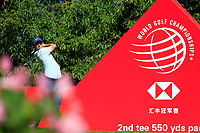 Rory McIlroy (NIR) on the 2nd tee during the final round at the WGC HSBC Champions 2018, Sheshan Golf CLub, Shanghai, China. 28/10/2018.<br /> Picture Fran Caffrey / Golffile.ie<br /> <br /> All photo usage must carry mandatory copyright credit (&copy; Golffile | Fran Caffrey)
