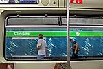 Estação do metrô. São Paulo. 2008. Foto de Juca Martins.