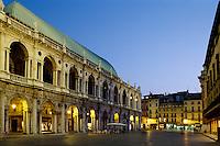 Basilica von Andrea Palladio,  Piazza dei Signorie, Vicenza, Venetien-Friaul, Italien, Unesco-Weltkulturerbe