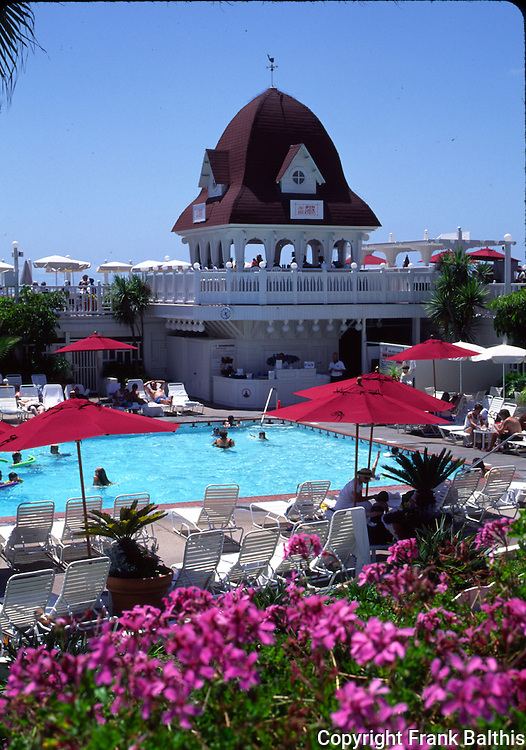 Swimming pool at Coronado Hotel