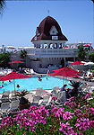 Swimming pool at Coronado Hotel