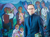 Berlin, Bundesjustizminister Heiko Maas (SPD) am Mittwoch (01.07.2015) im Bundeskanzleramt vor der Kabinettssitzung. Foto: Steffi Loos/CommonLens