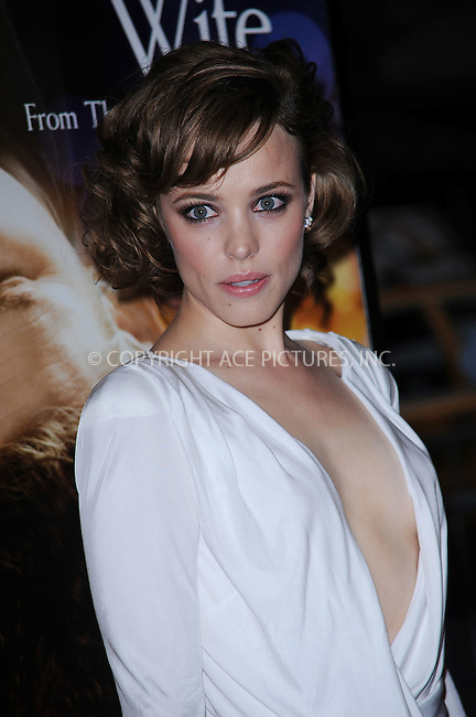 WWW.ACEPIXS.COM . . . . . ....August 12 2009, New York City....Actress Rachel McAdams arriving at the premiere of 'The Time Traveler's Wife' at the Ziegfeld Theatre on August 12, 2009 in New York City.....Please byline: KRISTIN CALLAHAN - ACEPIXS.COM.. . . . . . ..Ace Pictures, Inc:  ..tel: (212) 243 8787 or (646) 769 0430..e-mail: info@acepixs.com..web: http://www.acepixs.com