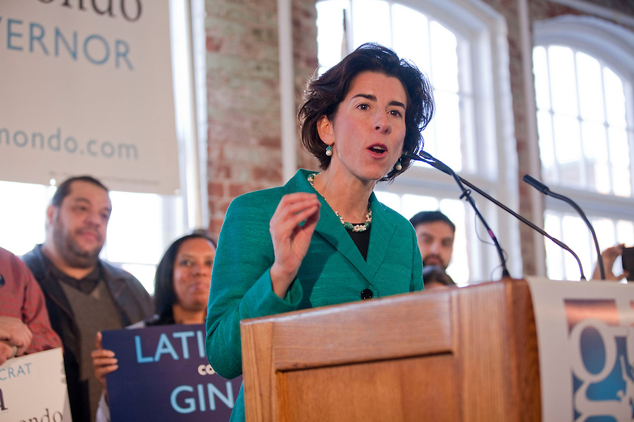 Raimondo for Governor Campaign/Mae Gammino<br />
