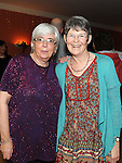 Peggy Clinton and Gillian O'Kane pictured at the annual Teach Raithneach ceilí. Photo: Colin Bell/pressphotos.ie