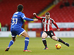 John Fleck of Sheffield Utd  during the English League One match at Bramall Lane Stadium, Sheffield. Picture date: December 26th, 2016. Pic Simon Bellis/Sportimage
