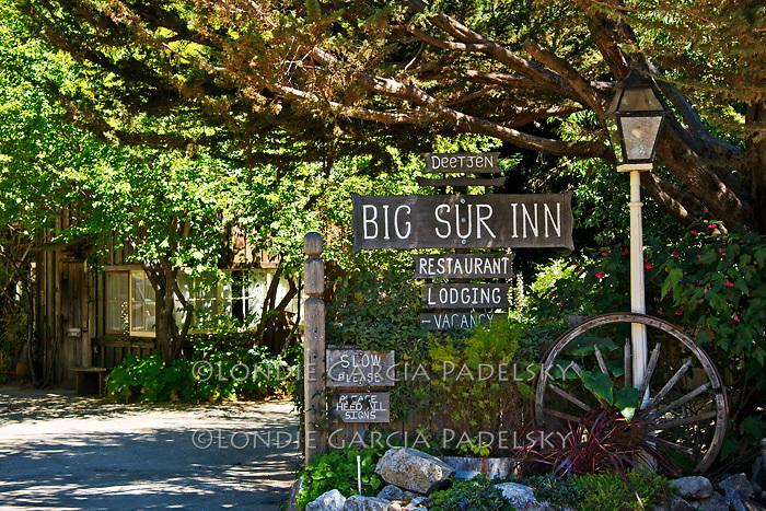 Deetjen Big Sur Inn, Big Sur, on the Central Coast of California
