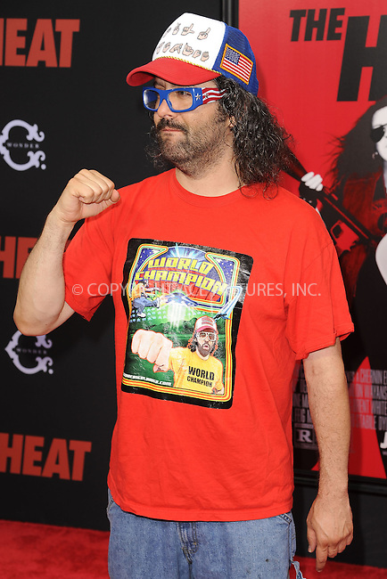WWW.ACEPIXS.COM<br /> June 23, 2013...New York City <br /> <br /> Judah Friedlander attending 'The Heat' New York Premiere at the Ziegfeld Theatre on June 23, 2013 in New York City.<br /> <br /> Please byline: Kristin Callahan... ACE<br /> Ace Pictures, Inc: ..tel: (212) 243 8787 or (646) 769 0430..e-mail: info@acepixs.com..web: http://www.acepixs.com