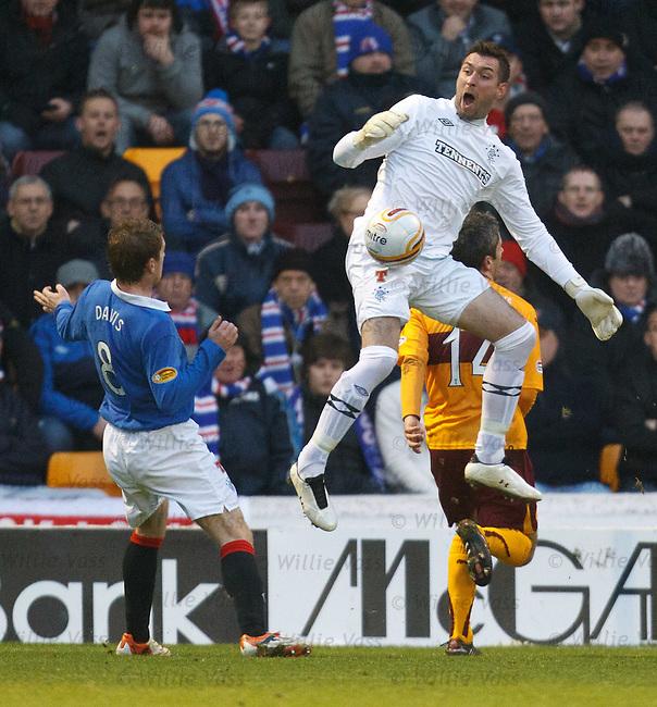 Allan McGregor leaps to deny Keith Lasley