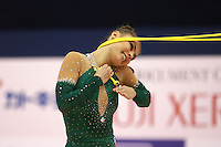 Alina Kabaeva of Russia...apparatus handling with rope at 2006 Aeon Cup Worldwide Clubs Championships in rhythmic gymnastics on November 16, 2006 at Mie, Japan.<br />