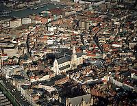 Januari 1994. Sint-Pauluskerk in Antwerpen.