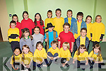 Talented performers from KAMA who presented Showstoppers-The Show in the CYMS Killorglin on Sunday front row l-r: Etain O'Meara, Jane Carr, Allanah Dolan, Jake, Matthew Reensteirna, Niamh Doyle, Millie Foley. Middle row: Dylan O'Shea, Orla Reynolds, Orla Coffey, Jack Smith, Conor Roche, Timothy McGrath. Back row: Shania O'Sullivan, Katie Halpenny, Mara Tracey, Adam O'Brien, Dylan Patist, Cian Lynch, Donal Brennan, Leanne Francis and Rebecca Coffey