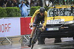 Timo Roosen (NED) Lotto NL-Jumbo in action during Stage 1, a 14km individual time trial around Dusseldorf, of the 104th edition of the Tour de France 2017, Dusseldorf, Germany. 1st July 2017.<br /> Picture: Eoin Clarke | Cyclefile<br /> <br /> <br /> All photos usage must carry mandatory copyright credit (&copy; Cyclefile | Eoin Clarke)