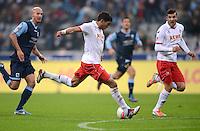 Fussball 2. Bundesliga:  Saison   2012/2013,    14. Spieltag  TSV 1860 Muenchen - 1. FC Koeln  16.11.2012 TOR zum 0:2 durch Adil Chihi (1. FC Koeln)