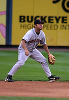 August 31, 2003:  Rich Paz of the Indianapolis Indians, Class-AAA affiliate of the Milwaukee Brewers, during an International League game at Fifth Third Field in Toledo, OH.  Photo by:  Mike Janes/Four Seam Images