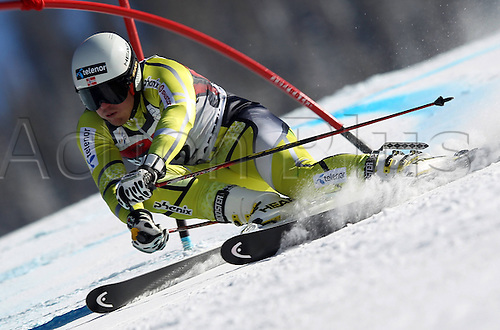06.12.2011. Beaver Creek, USA. Ski Alpine FIS World Cup Giant slalom the men Picture shows Kjetil Jansrud NOR